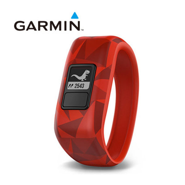 GARMIN vivofit jr. 兒童專屬活動追蹤手環(火山熔岩紅)