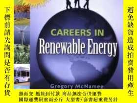 二手書博民逛書店Careers罕見In Renewable Energy: Get A Green Energy Job-可再生能