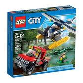 【LEGO 樂高積木】City 城市系列 - 水上飛機追擊 LT-60070