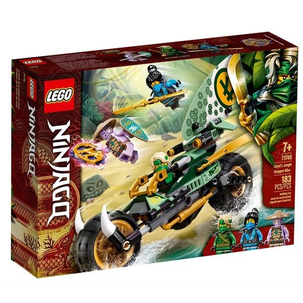 LEGO樂高 Ninjago忍者系列 勞埃德的叢林摩托車_LG71745