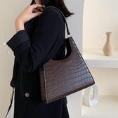側背包法國小眾包包洋氣女包潮韓版百搭復古港風氣質時尚側背包新年禮物