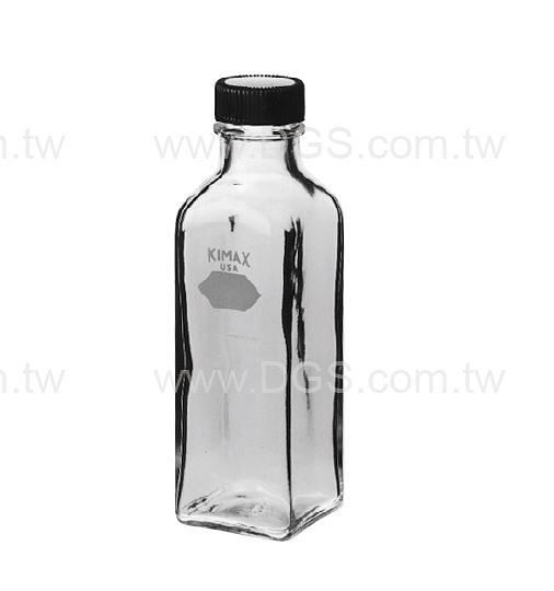 《KIMBLE & CHASE》方型稀釋瓶 Bottle, Milk Dilution, Square, Screw-Cap