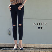 東京著衣【KODZ】歐美率性修身牛仔褲-S.M.L(171891)