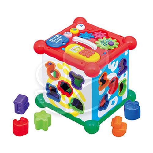 Toy Royal 樂雅 聲光積木六面盒【佳兒園婦幼館】
