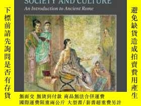 二手書博民逛書店Themes罕見In Roman Society And Cul