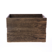特力屋可堆疊桐木箱-大38x27x24.5公分