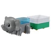 TOMICA 大象_ AN83111 多美動物火車 多美動物園