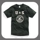 UNICORN網上購物美國棉T恤優惠-運動休閒系列-森林綠色-6150003-885