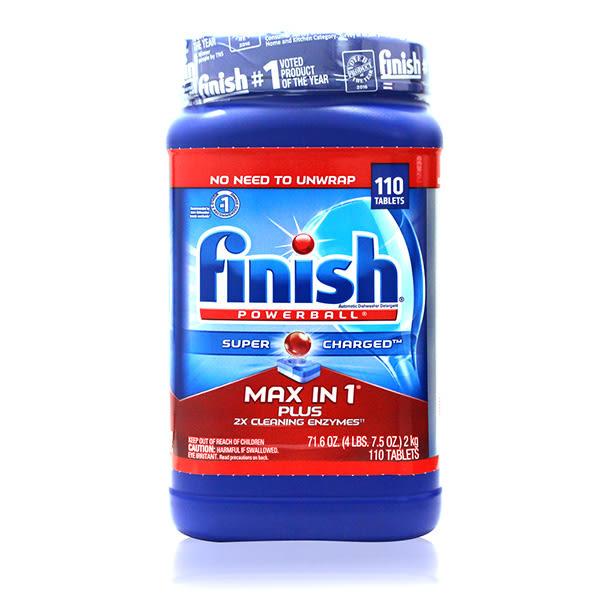 FINISH強效洗碗碇(12倍清潔)110入