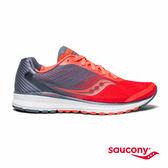 SAUCONY BREAKTHRU 4 專業訓練鞋款-橘紅x藍灰
