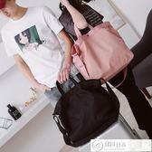 運動包 短途旅行包女手提韓版行李袋男旅游登機包防水輕便側背斜背健身包 潮先生