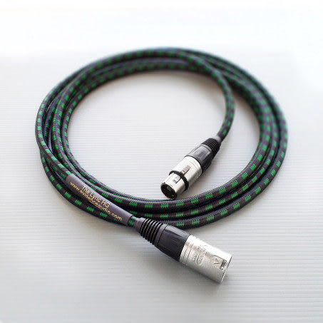 美國 Evidence Audio Lyric HG 10ft 平衡式 XLR 麥克風線 3.05公尺 總代理公司貨