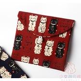 衛生巾收納包大容量月事包姨媽巾日本進口收納袋【少女顏究院】