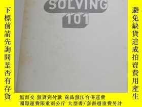 二手書博民逛書店Problem罕見Solving 101: A Simple Book for Smart PeopleY25