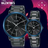 ALBA 雅柏超人氣對錶系列簡約時尚情人對錶AH8483X1/AH8485X1公司貨