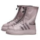 高筒防雨鞋套防滑耐磨加厚鞋底男女下雨天防水鞋套兒童雨靴套成人 安雅家居館
