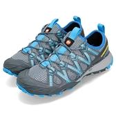 Merrell 戶外鞋 Choprock 藍 灰 越野 水陸兩棲 運動鞋 休閒鞋 女鞋【ACS】 ML49082
