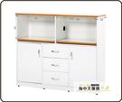 {{ 海中天休閒傢俱廣場 }} B-34 環保塑鋼 電器櫃系列 910-04 4.2尺電器櫃