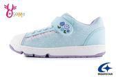 Moonstar 月星 WagaMama系列 日本機能鞋 貴族點點 中童 運動鞋 I9640#藍色◆OSOME奧森鞋業