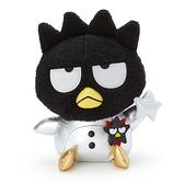 小禮堂 酷企鵝 絨毛玩偶 生日娃娃 絨毛娃娃 中型玩偶 布偶 (黑 生日宇宙) 4550337-45315