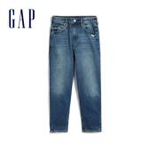 Gap女裝時尚水洗五口袋牛仔褲546945-靛藍色