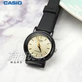 CASIO卡西歐 LQ-139EMV-9A 輕薄簡約指針腕錶 女錶 石英錶 防水手錶 小圓錶 黑x金 LQ-139EMV-9ALDF