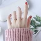 情侶戒指韓版尾戒玫瑰金食指鈦鋼關節指環小指簡約超細戒指女情侶對戒 嬡孕哺