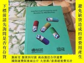 二手書博民逛書店intellectual罕見property and access to medicinesY352802 i