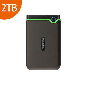[富廉網] Transcend 創見 StoreJet 25M3S 2TB 綠色 USB3.1 2.5吋 超薄 行動外接硬碟(TS2TSJ25M3S)