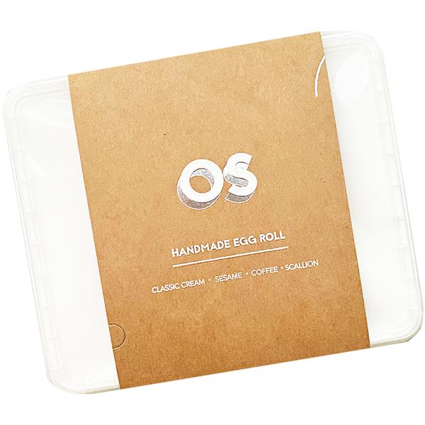 OS 水滴蛋捲 文青盒 200g 千層手工蛋捲   OS小舖 HANDMADE EGG ROLL 水滴蛋捲 千層蛋捲酥