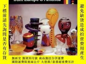 二手書博民逛書店circa罕見Fifties Glass from Europe