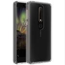 88柑仔店~----諾基亞6.1 2018版 晶透亞克力 Nokia 6.1 TPU邊框防摔透明殼TA1068 5.5吋