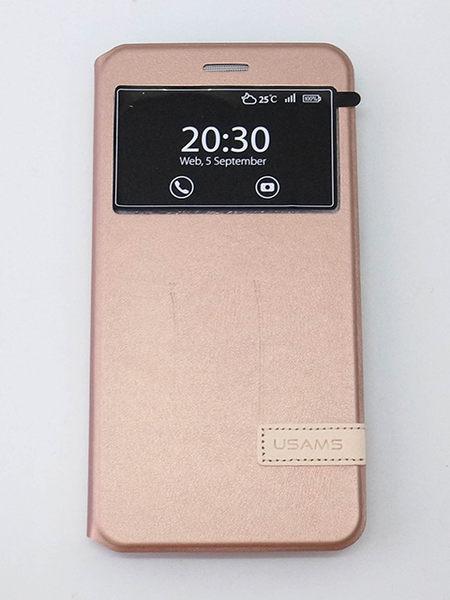 USAMS Samsung Galaxy J7 (2016新版) 側翻手機保護皮套 慕格系列  2色可選