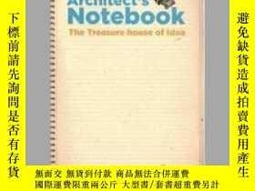 二手書博民逛書店Architect s罕見Notebook. The Treasure House of IdeaY40570