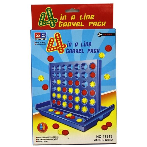 桌遊 親子遊戲四連棋四子棋五子棋bingo connect4 (大款)
