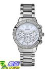 [美國直購 USAShop] 手錶 GUESS Women s U0141L1 Silver-Tone Crystal Sport Chronograph Watch $4577