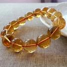 財運之石 14mm珠款 黃水晶手環