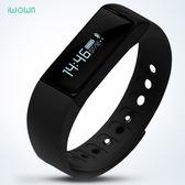 iwown埃微i5Plus智能手環運動手錶藍牙防水記計步器小米2華為蘋果igo「摩登大道」