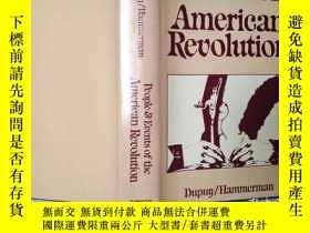 二手書博民逛書店People罕見& events of the American revolutionY26321 duouy