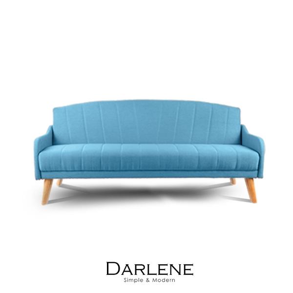 沙發床 Darlene貝殼窩布沙發床(LS/DAD-002)【obis】時尚家居