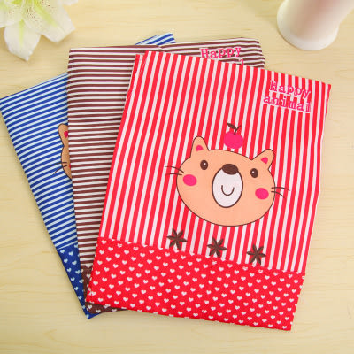 【全館5折】WaBao 小熊點點條紋防污圍裙 (含袖套) =D03994-1=