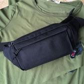 腰包男多層多功能小包包橫款防水迷你休閒實用耐磨運動跑步手機包