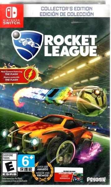 【玩樂小熊】現貨中 Switch 遊戲 NS 火箭聯盟 Rocket League 英文版