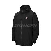 Nike 外套 NSW Heritage Windrunner Jacket 黑 紅 男款 風衣外套 連帽 運動休閒 【ACS】 CJ4359-010