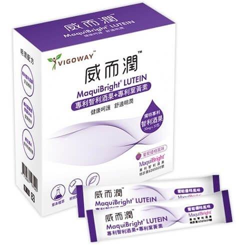 立萬利威而潤-專利葉黃素+花青素晶潤配方(30包)