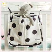 尿布袋 嬰兒置物收納袋外出便攜嬰兒床尿布收納袋床頭尿布袋掛袋收納包  瑪麗蘇