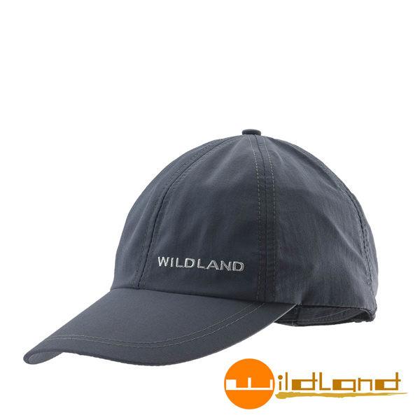 Wildland荒野 W1013-96深鐵灰 中性 抗UV透氣棒球帽/防曬/遮陽/踏青/郊遊/MIT/休閒帽/工作帽