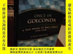 二手書博民逛書店Once罕見in Golconda: A True Drama