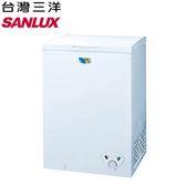 【SANLUX 台灣三洋】103L冷凍櫃SCF-103W