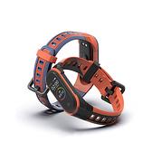 米布斯 小米手環3/4/5代矽膠撞色X錶帶 小米智能手環通用替換錶帶 免工具安裝